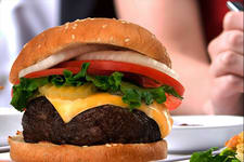 Image of a burger